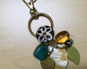 Gemstone Key Ring