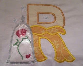 Beauty and The Beast (Belle) initial shirt