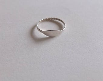 80s 925 Sterling Silver Ring