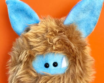 Plush Monster - Cute Stuffed Toy - Monster Softie - Stuffed Animal - Monster Plush - Cute Plush Animal - Handstitched Plush Toy - Fuzzling