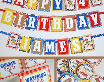 Vintage Cowboy Birthday Party Decorations Fully Assembled  |Western Birthday Party | Rodeo Party | Vintage Western | Vintage Cowboy Party |