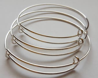 Adjustable Bangle Bracelet Iron  (1)