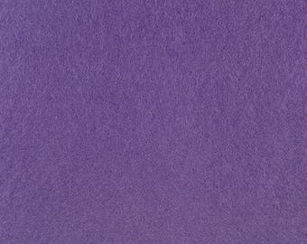 "Lavender Acrylic Craft Felt by the Yard - 1/16"" Thick, Available Plain (72"" Wide) or with a Peel-and-Stick Adhesive Backing (36"" Wide)"