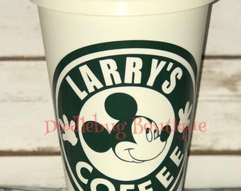 Mickey Mouse starbucks travel coffee cup