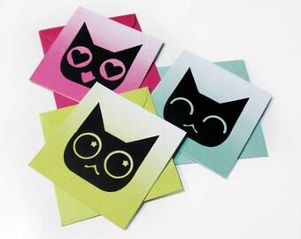 Emoji Kitty Mini Card Set