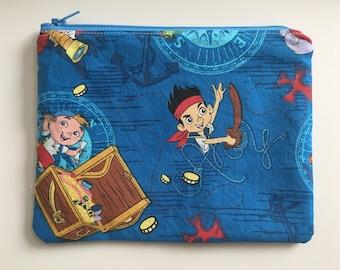Reusable Sandwich Bag - Jake Pirates