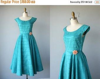 48 HR FLASH SALE Vintage 1950s Party Dress   50s Cocktail Dress   50s Dress   50s Prom Dress   Vintage 50s Formal Dress - size small