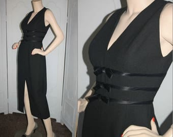 Vintage 1990's Dress by Shelli Segal Laundry. Small to Medium.
