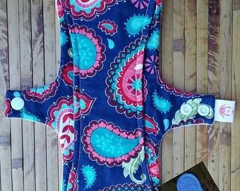 """12""""  Paisley  liner mama cloth"""