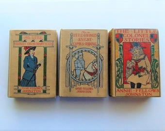 3 Little Colonel Books - 1920's