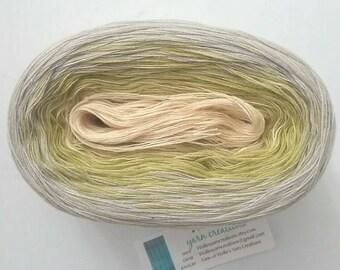 LEMON IV - Color Changing Cotton yarn - 480 yards/100 gr - Fingering Weight