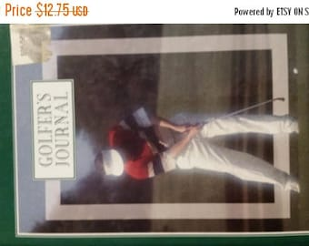 Golfers Journal Book--Good Condition---40-70% off Patterns n Book  SALE