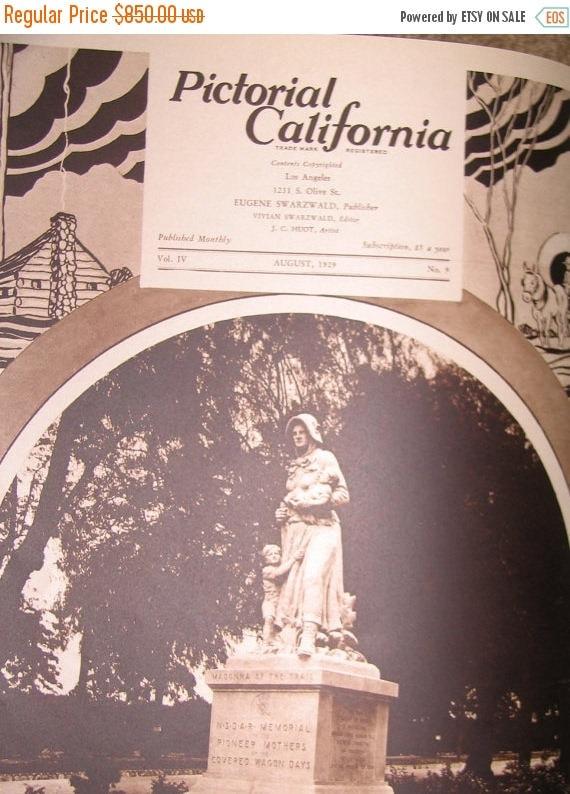 1928 thru 1930 California Pictorial BOOK--Hundreds of photos--HARD Find--Book SALES