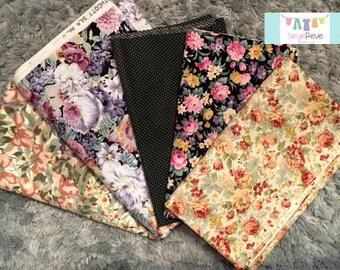 Vintage Florals Half Yard bundle