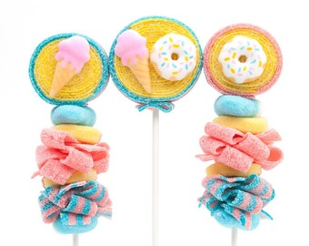 Ice Cream and Donut Candy Kabobs - 12