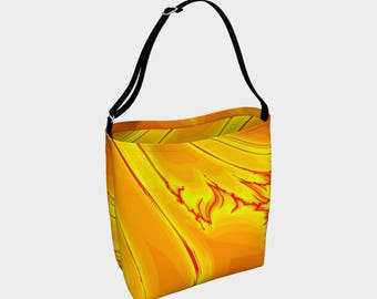Molten Metal Day Tote Bag