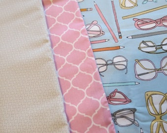 Scholars Fabric Bundle with Pencils and Eye Glasses