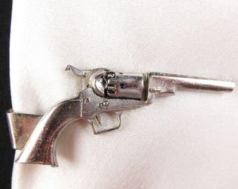 Vintage Anson Revolver Tie Clip