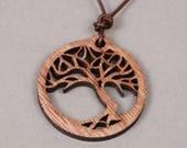 custom ship for hyraxx - Bonsai Pendant - Bonsai Necklace - Tree Pendant - Tree Necklace - Gardener Present - Wood Pendant