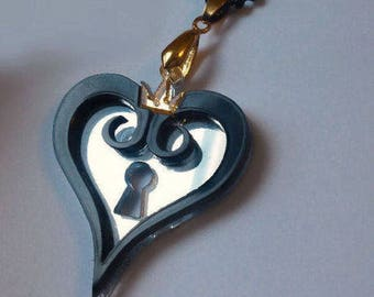 Kingdom Hearts Keyhole Necklace