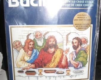 Bucilla Counted Cross Stitch Kit - The Last Supper
