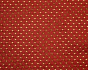 REMNANT Red Diamond Fabric 55 inches x 1.5 yards