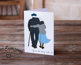 Grow old along with me, Birthday Card, Greeting Card, Love Card, Birthday Card, Happy Birthday Card, Spouse Birthday Card, Senior Birthday