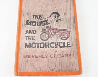 Vintage The Mouse And The Motorcycle Book- Beverly Cleary Hardcover