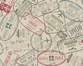 Passport stamp | Etsy