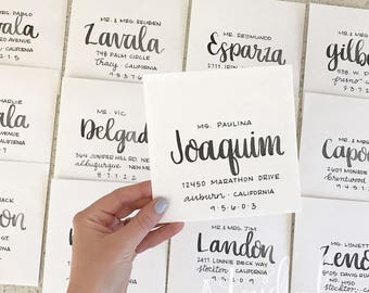 Hand Addressed Envelopes for All Events