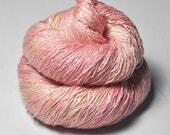 Hanami picnic - Tussah Silk Lace Yarn