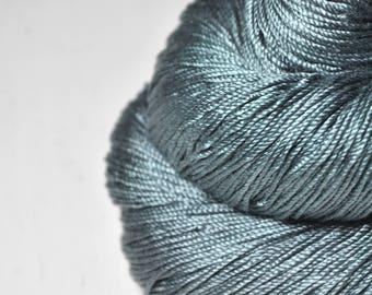 Rain in a graveyard -  Cordonnette Silk Fingering Yarn
