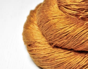 Passing leaf storm -  Fleece Silk Lace Yarn - LIMITED EDITION - LSOH