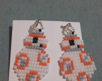 Star Wars BB-8 Earrings