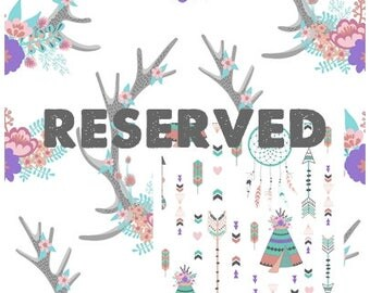 Reserved Listing for Lora SWATCH