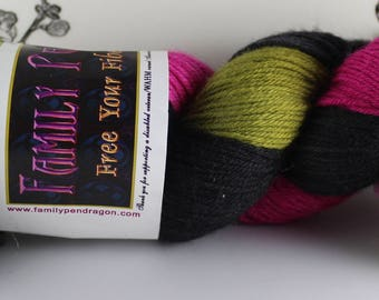 DESTASH Family Pendragon Arthur 100% Superwash Merino Sport Weight Sock Yarn