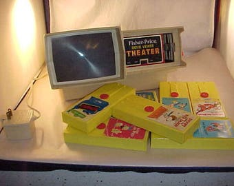 SALE Fisher Price Movie Viewer Theater With 7 Movies