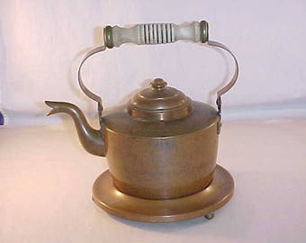 Copper Teapot With Stand Skultuna 1611 No. 4