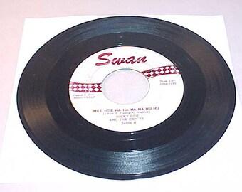 Dicky Doo and The Don'ts 45 Vinyl Record - Nee Nee Na Na Na Na Nu Nu / Flip Top Box