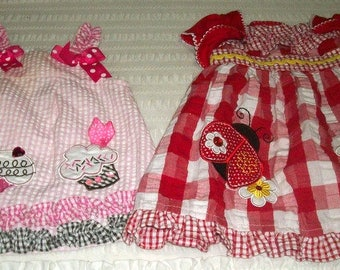 TWO Adorable BABY GIRL outfits Rare Editions & Youngland