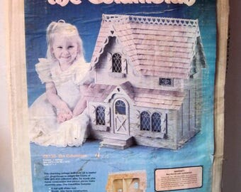 Vintage Dollhouse Kit The Columbian by Dura Craft