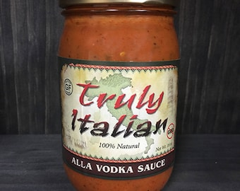 Vodka 16oz. Pasta Sauce