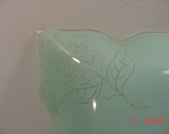 Vintage Lilac Flowers Glass Ceiling Light Shade  17 - 1090