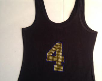 Custom Number on Shirt