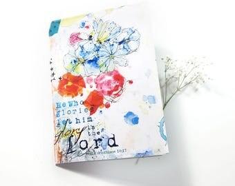 Bible Verse Note Card 5x7