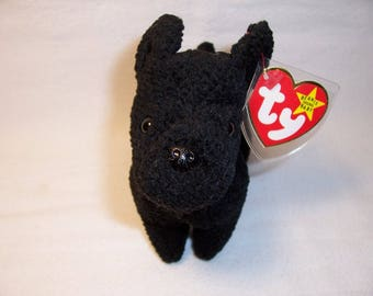 Ty Beanie Baby Scottie,Dogs,Collectibles,Beanie Babies,Stuffed Animals,Gifts