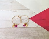 Hoop Earrings, Gold Hoop ...