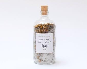 Restore Bath Salts - Epsom Salt + Lavender + Chamomile