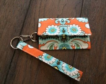 Girls Night Out ID Holder Wristlet - Amy Butler Belle