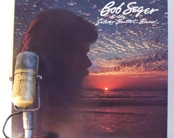 """ON SALE Bob Seger Vintage Vinyl LP Record Album 1980s Classic Rock and Roll Pop """"The Distance"""" (1982 Capitol w/""""Roll Me Away"""", """"Shame On The"""